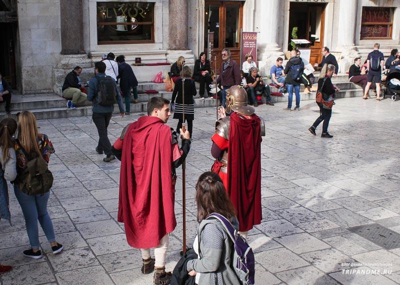 Солдаты армии Римской Империи
