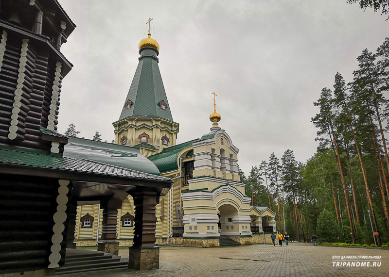 Монастырский комплекс Ганина Яма
