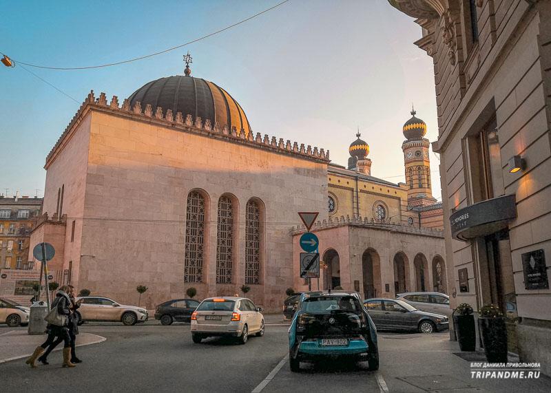 Большая синагога в Еврейском квартале
