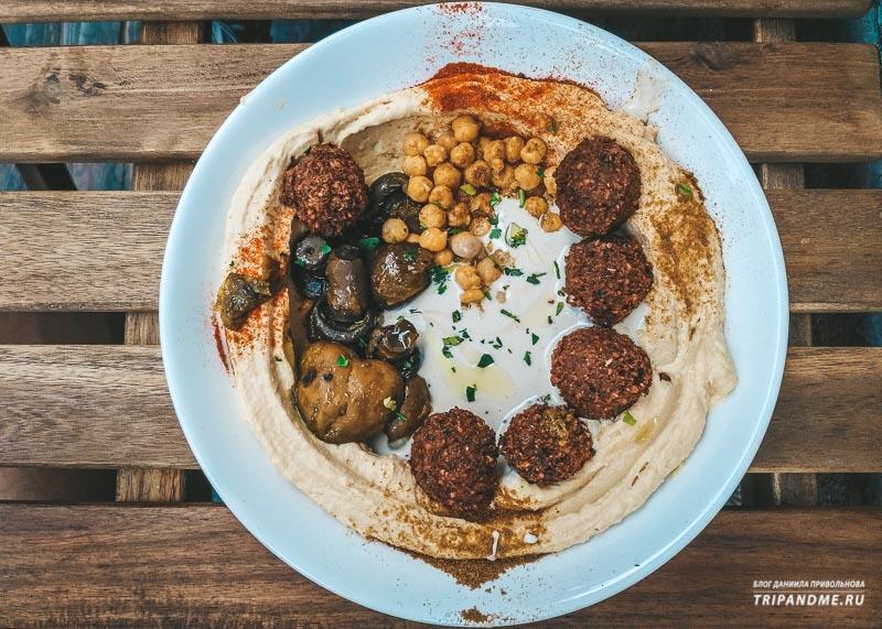 Фалафель и хумус - нацблюда у евреев