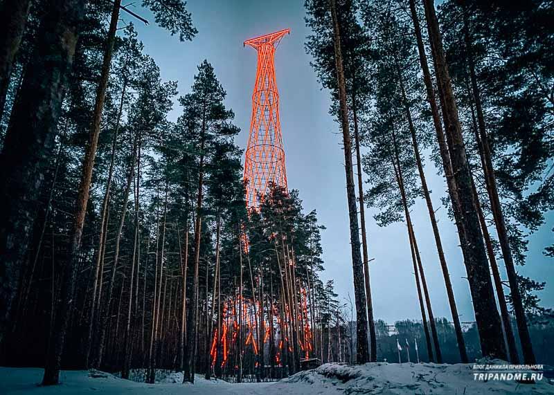 В 2020 году башню оснастили динамической подсветкой