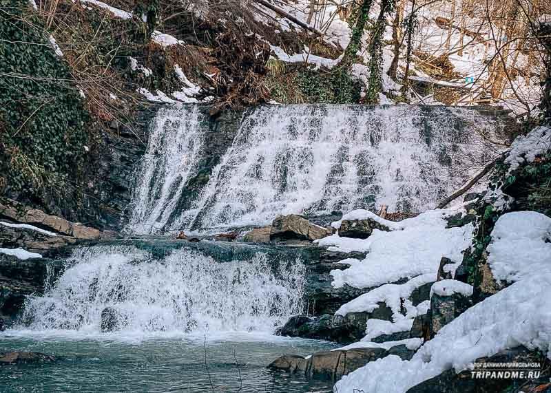 Последний Змейковский водопад поход на искусственный