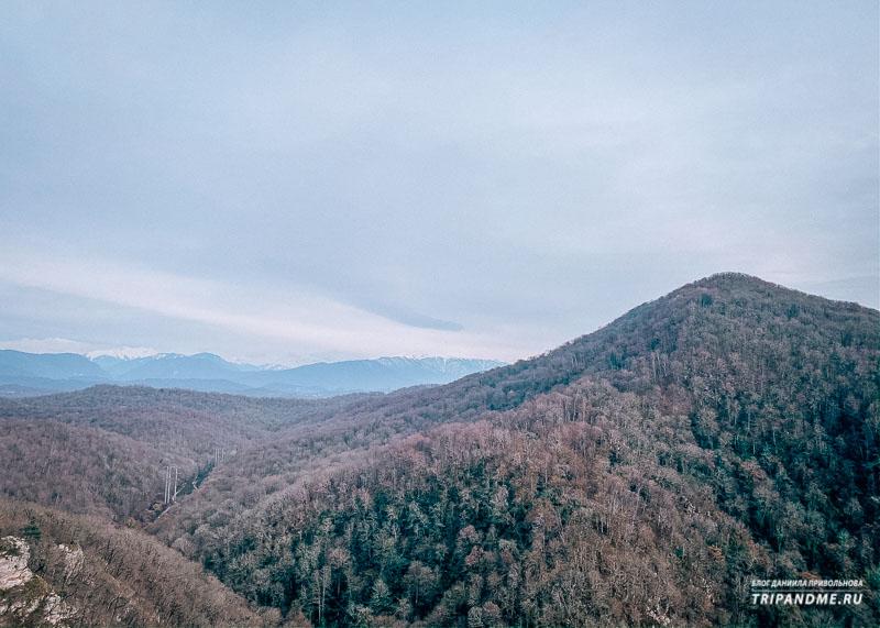 Виды с Орлиных скал