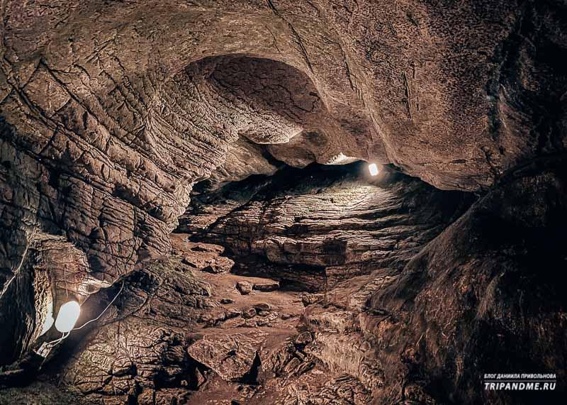 Один из маленьких залов пещеры