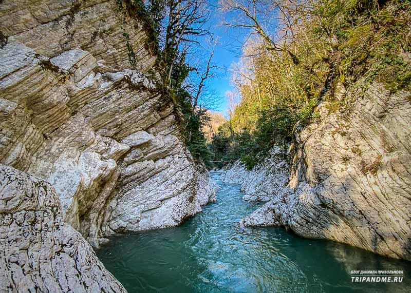 Природные красоты Навалищенского ущелья