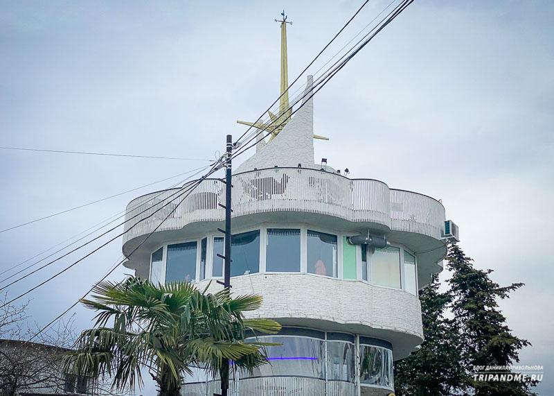 Архитектура видовой башни спорная