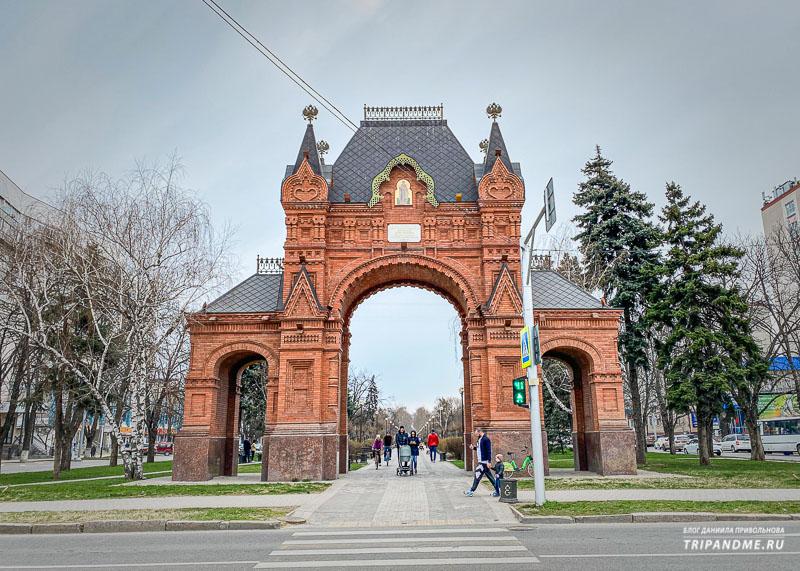Новые ворота построили на новом месте