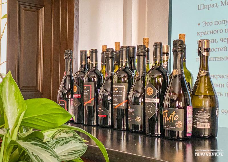 Дегустация на винодельне Мысхако