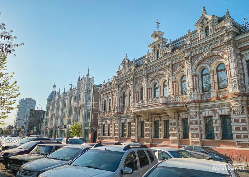 В Краснодаре много домов начало XIX века