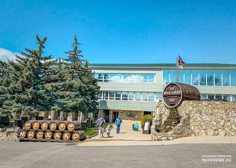 Винный завод был основан в 1869 году