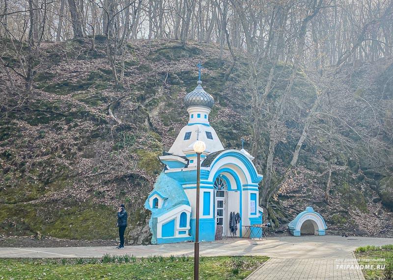 Церковь в Горячем Ключе
