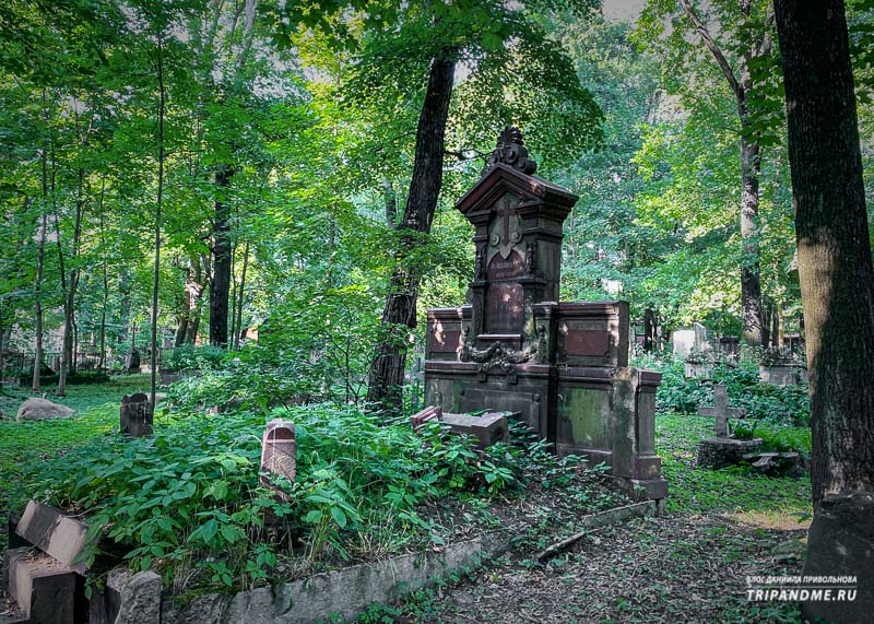 На кладбище много заброшенных могил
