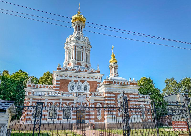 Троицкая церковь на кладбище