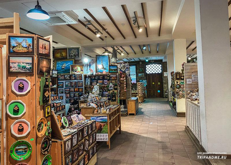 Где купить сувениры из Абрау-Дюрсо