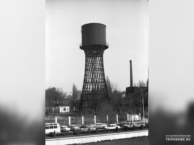 Так выглядела башня в советские времена
