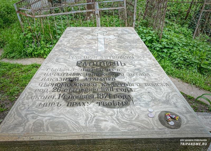 Могилы известных персон на Всесвятском кладбище