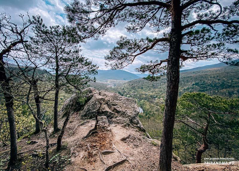 Планческие скалы - популярный туристический маршрут