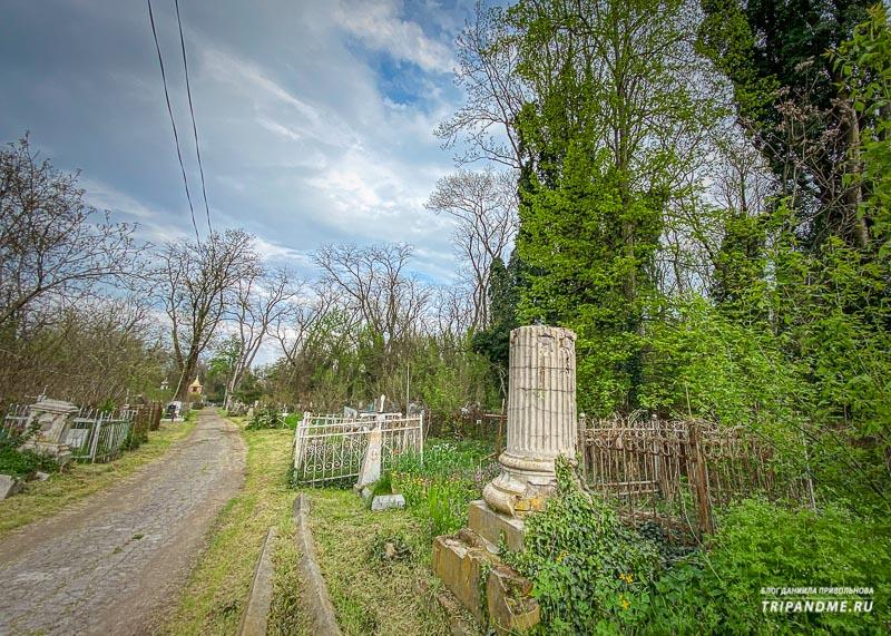 Дорожка на Всесвятском кладбище