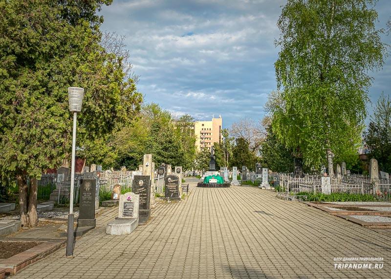 Захоронения советских времен