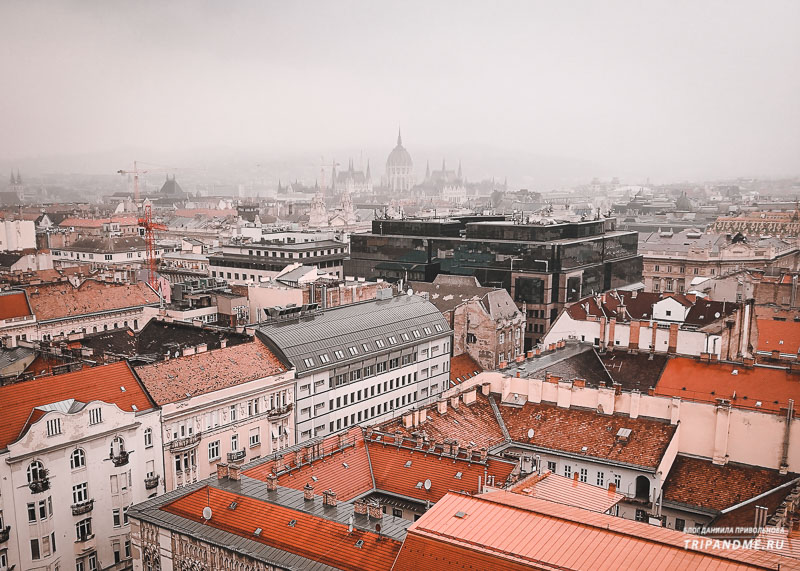 Туманный Будапешт в октябре