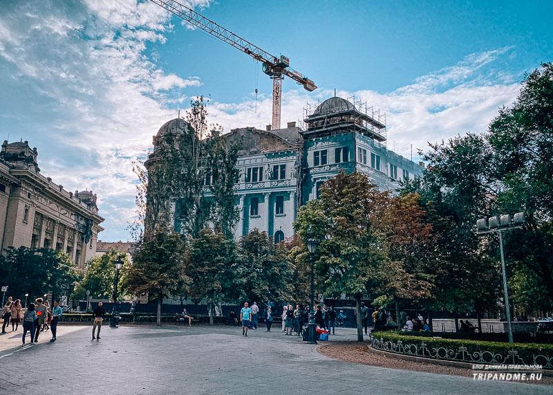 Дворец Адрия в Будапеште