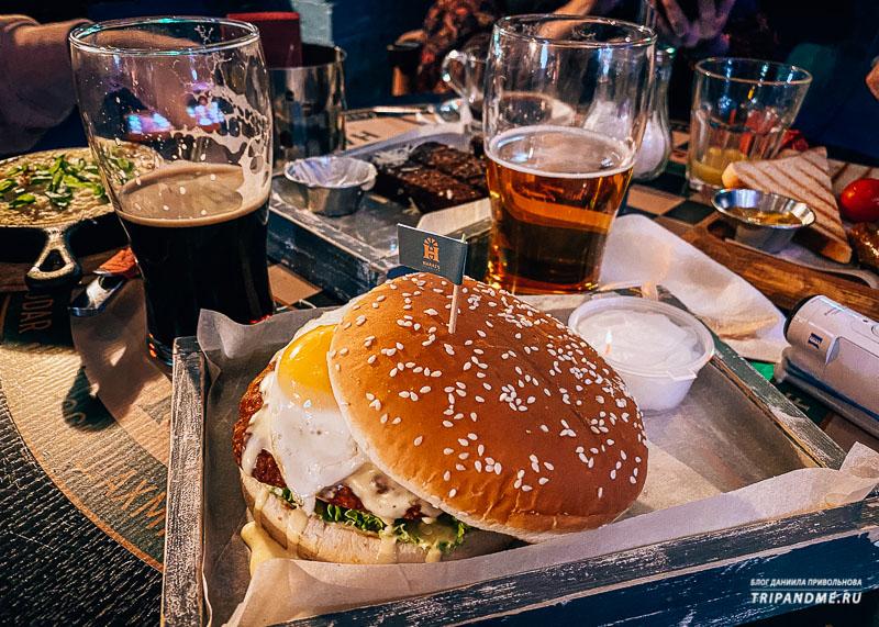Гамбургеры в Хартатсе очень вкусные