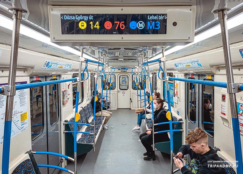 Обновленные вагоны метро М3