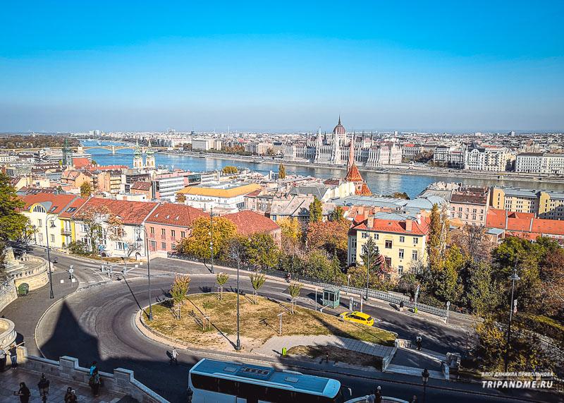 Солнечный Будапешт - фото сделано в октябре