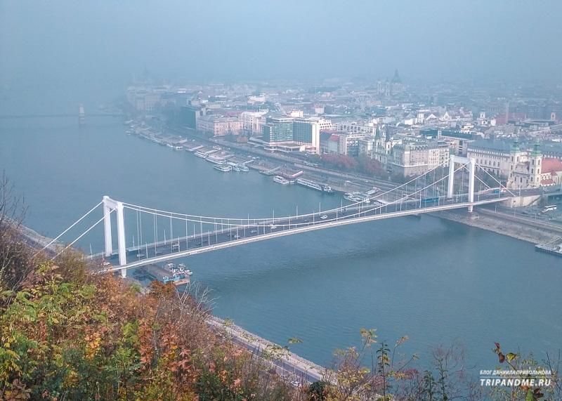 Дождливый Будапешт в октябре