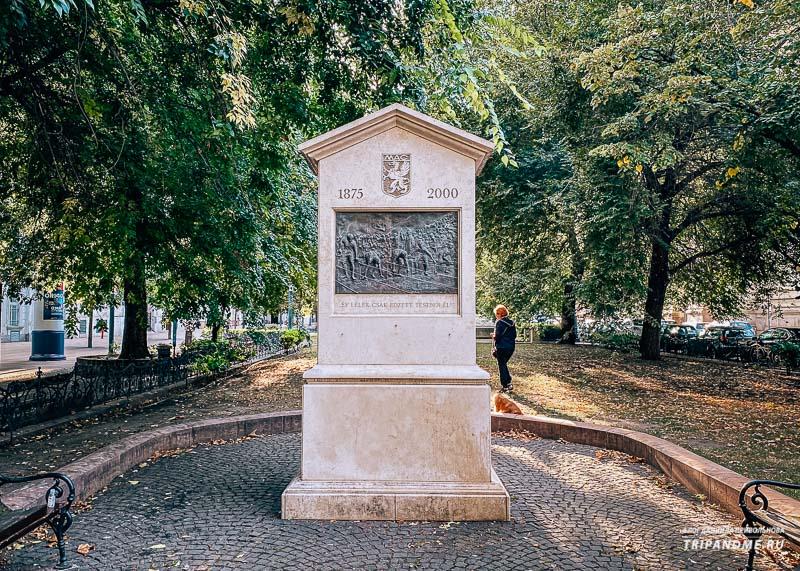 Декоративные фонтаны у площади Свободы