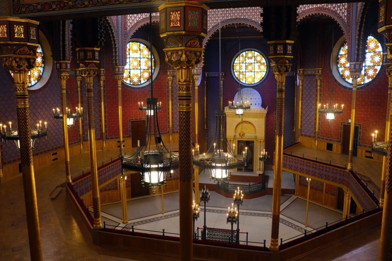 Отреставрированная Маленькая синагога