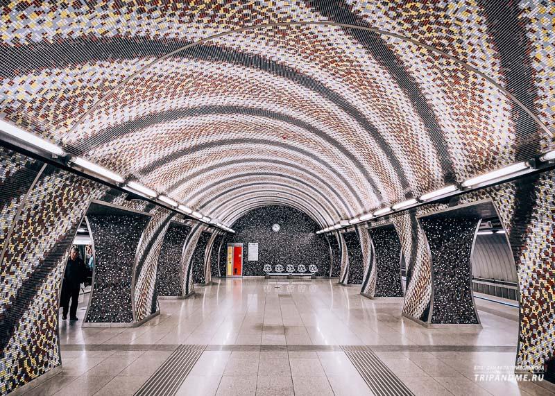 Станция площадь Святого Геллерта зеленой ветки