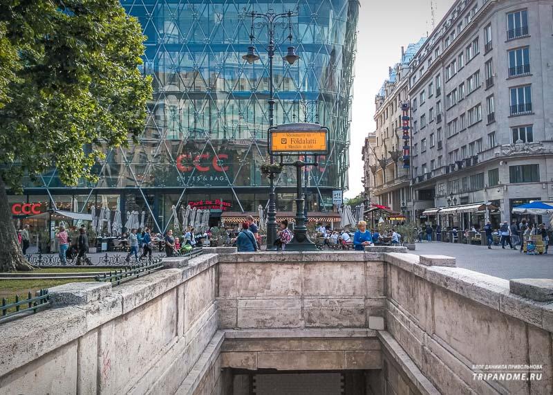 Первое в континентальной Европе метро